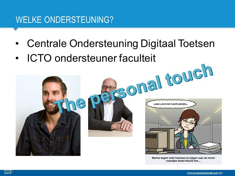 Digitale Toetszaal VU - Haagse Onderwijsdag 2013