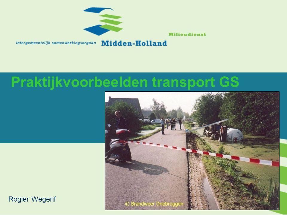 Praktijkvoorbeelden transport GS