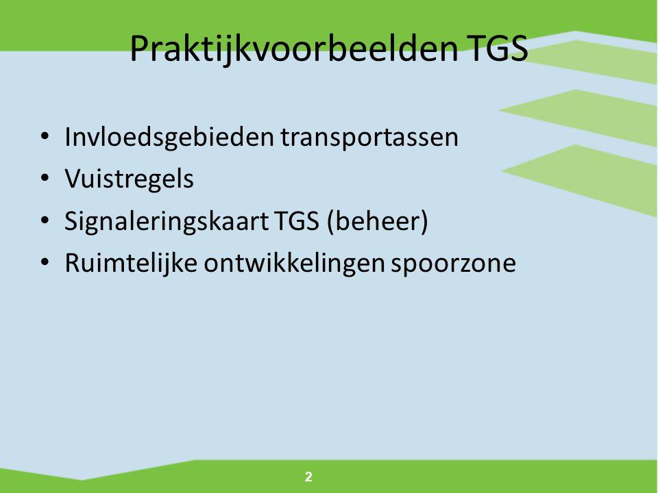 Praktijkvoorbeelden TGS