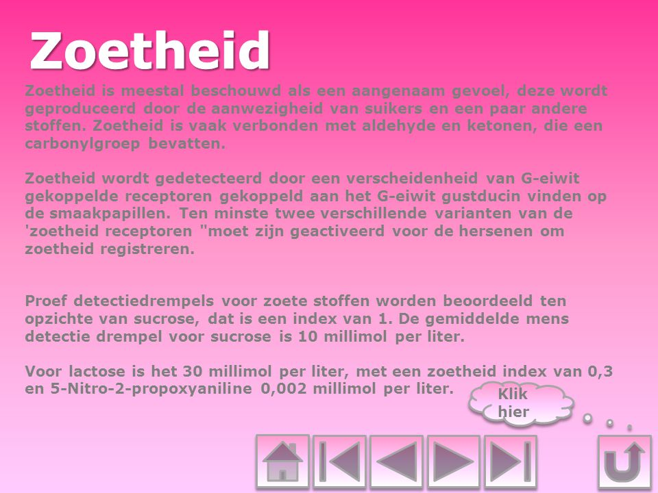 Zoetheid