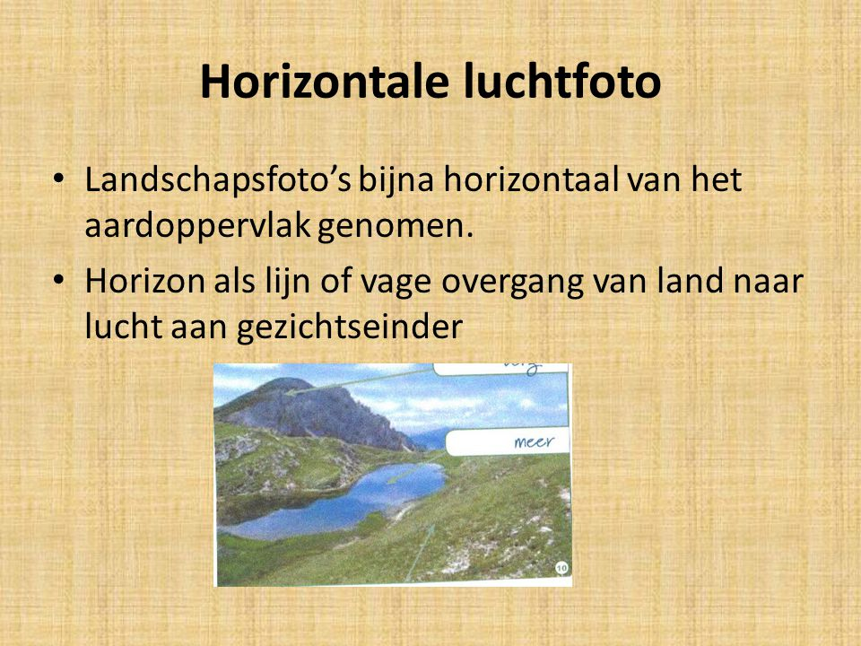 Horizontale luchtfoto