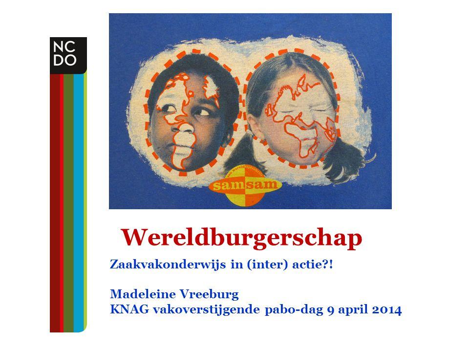 Wereldburgerschap Zaakvakonderwijs in (inter) actie !