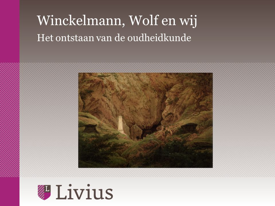 Winckelmann, Wolf en wij