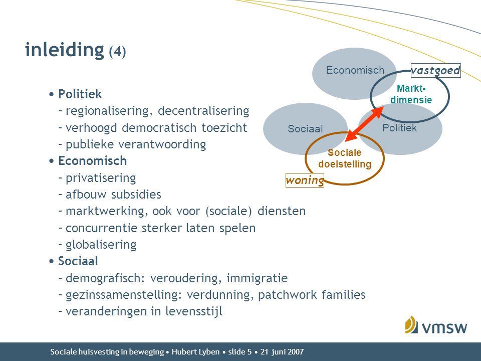 inleiding (4) Politiek regionalisering, decentralisering