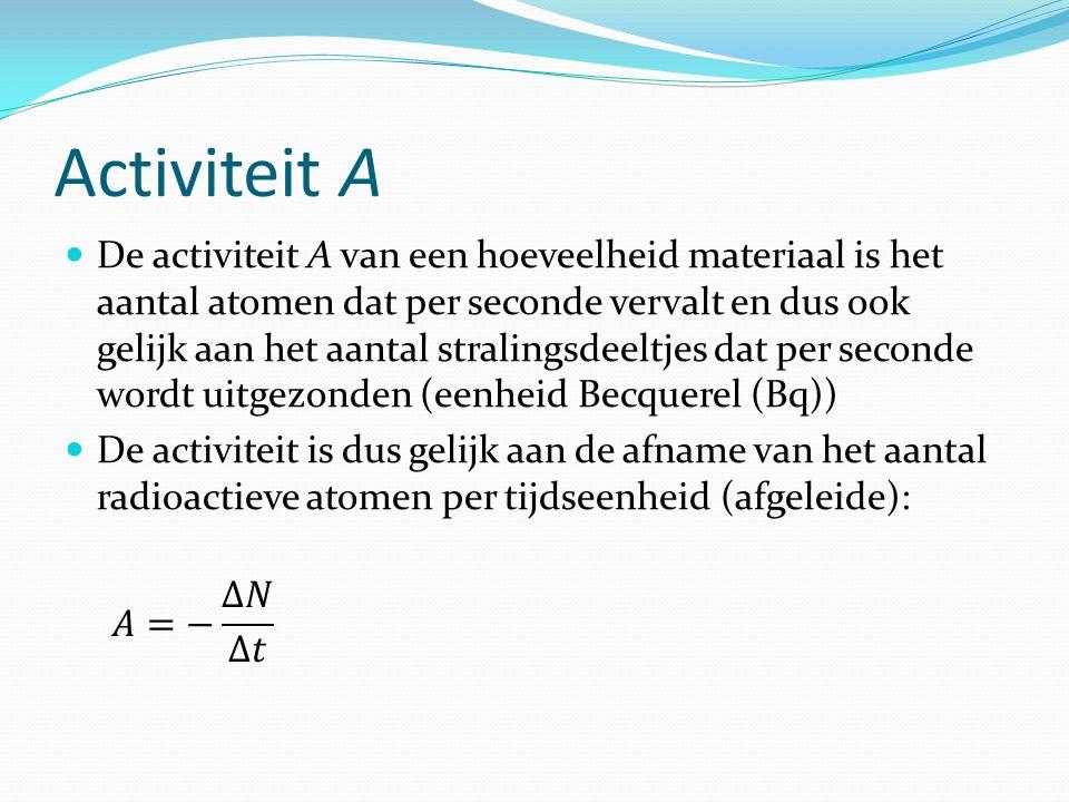 Activiteit A