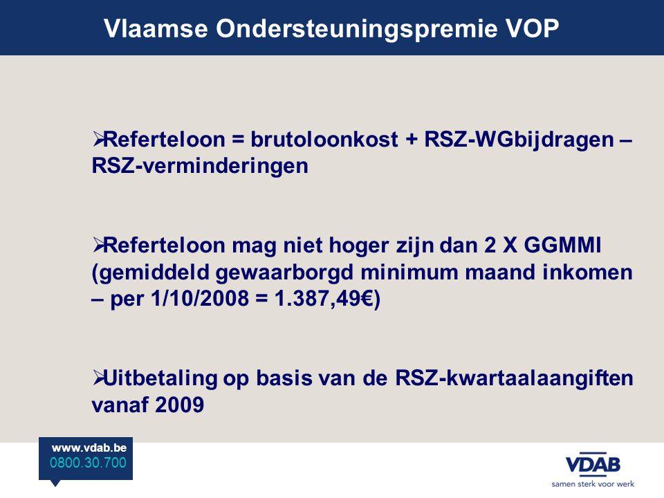 Vlaamse Ondersteuningspremie VOP