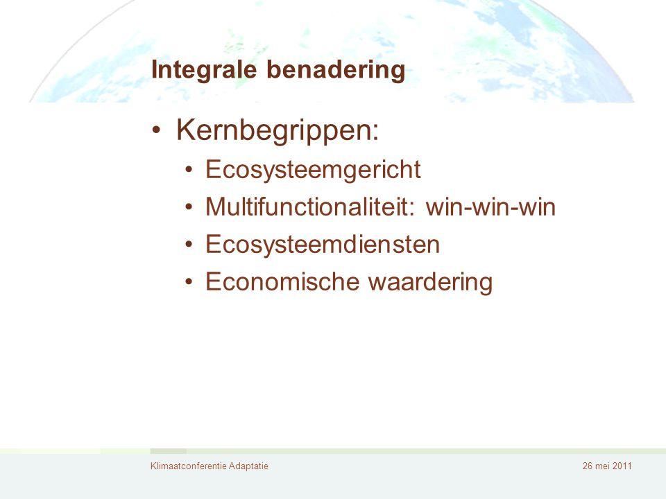 Kernbegrippen: Integrale benadering Ecosysteemgericht
