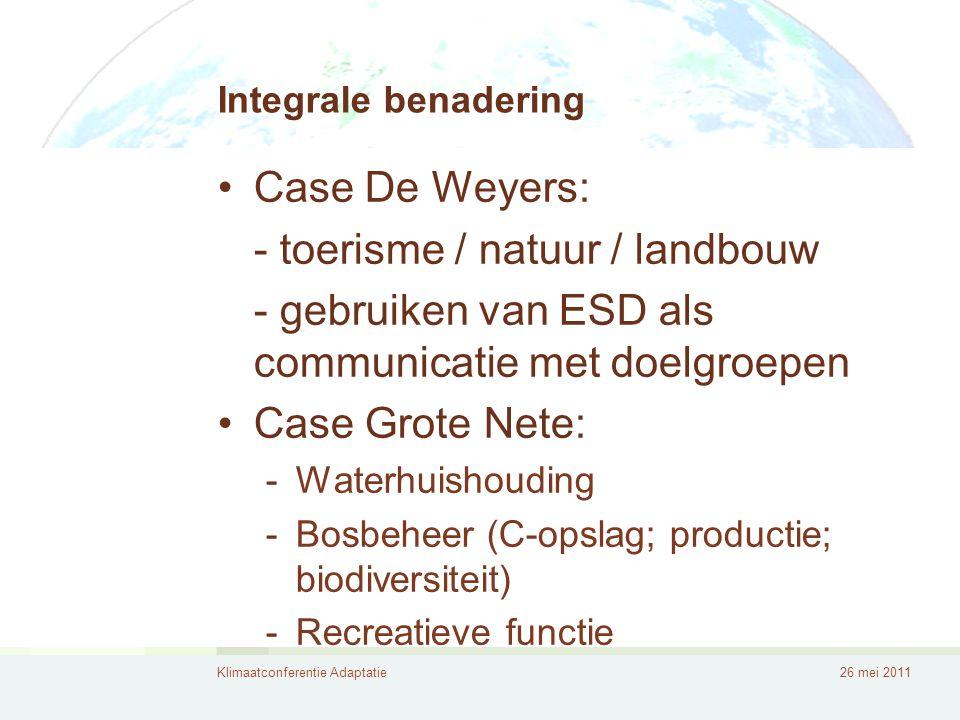 - toerisme / natuur / landbouw
