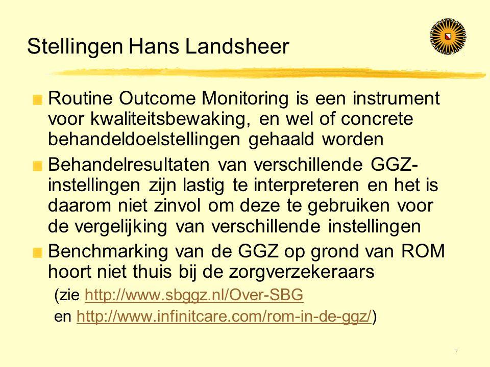 Stellingen Hans Landsheer