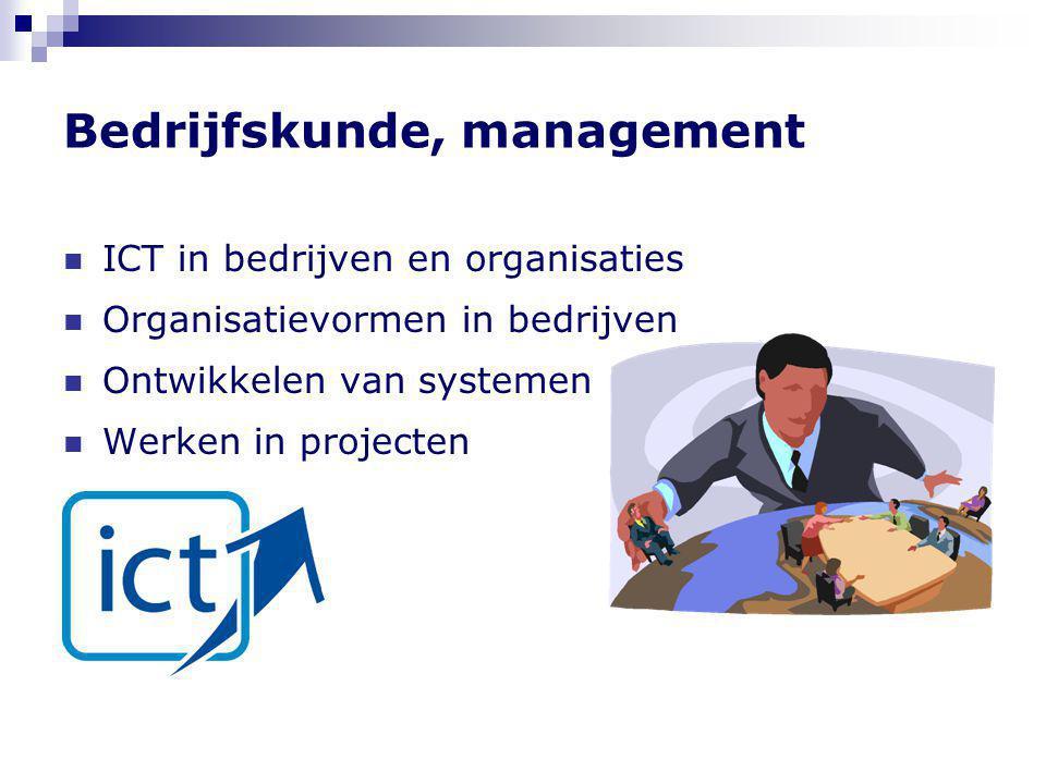 Bedrijfskunde, management
