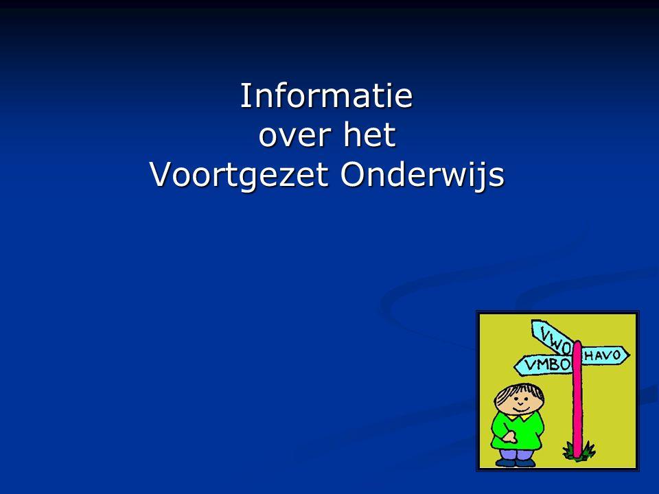 Informatie over het Voortgezet Onderwijs
