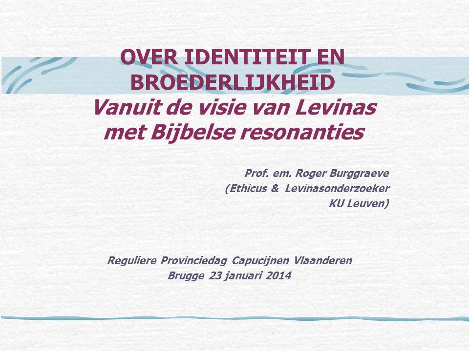 Reguliere Provinciedag Capucijnen Vlaanderen