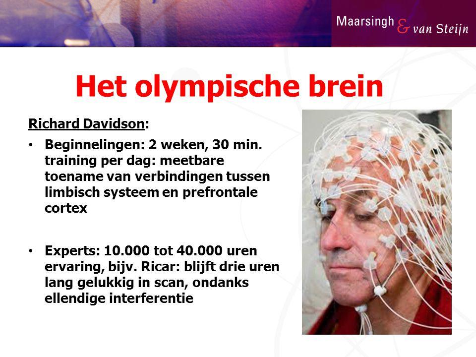 Het olympische brein Richard Davidson: