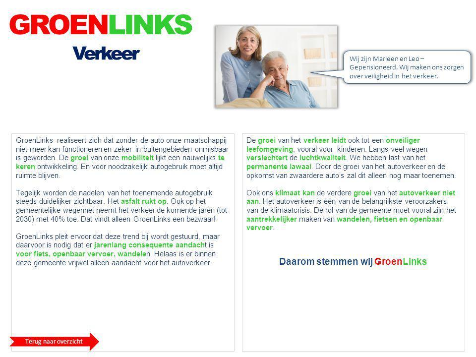 Daarom stemmen wij GroenLinks