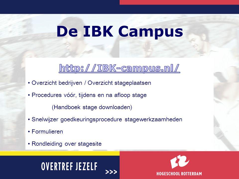 De IBK Campus http://IBK-campus.nl/