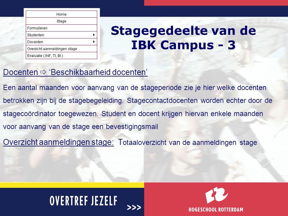 Stagegedeelte van de IBK Campus - 3