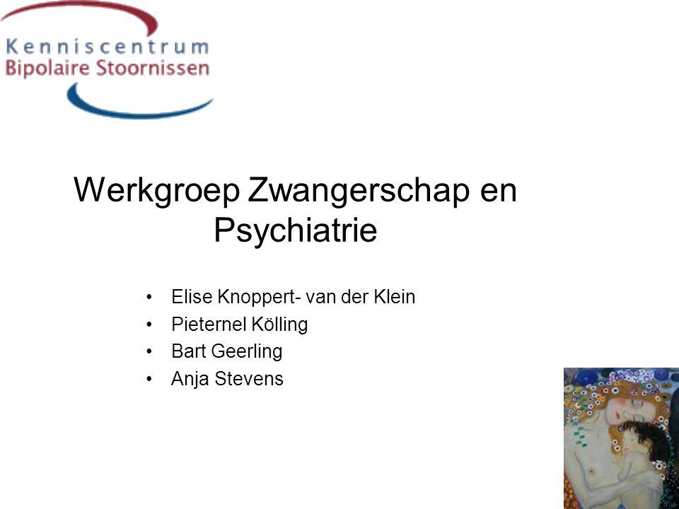 Werkgroep Zwangerschap en Psychiatrie