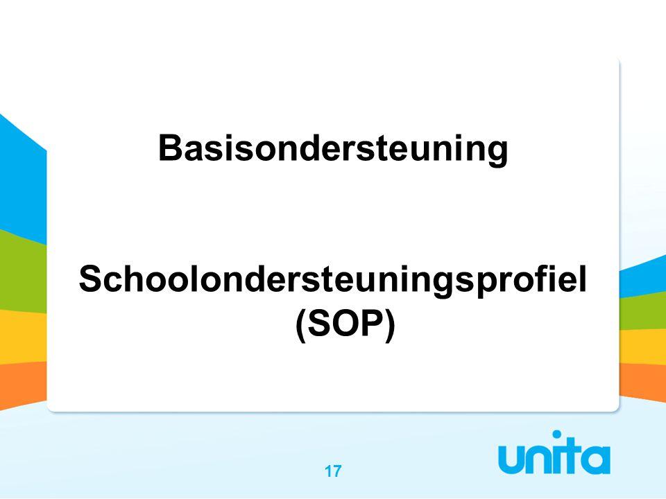 Schoolondersteuningsprofiel (SOP)