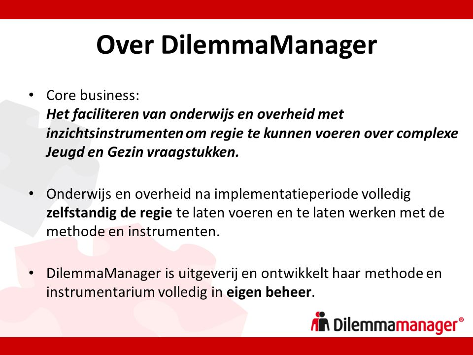 Over DilemmaManager