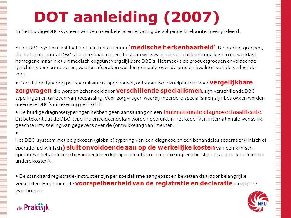 DOT aanleiding (2007)