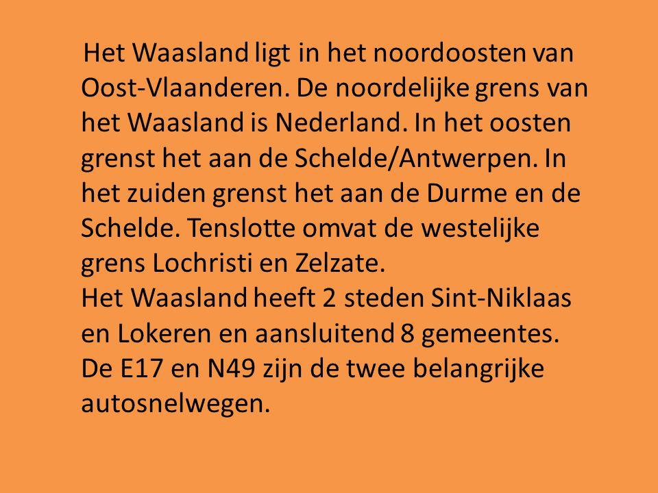 Het Waasland ligt in het noordoosten van Oost-Vlaanderen