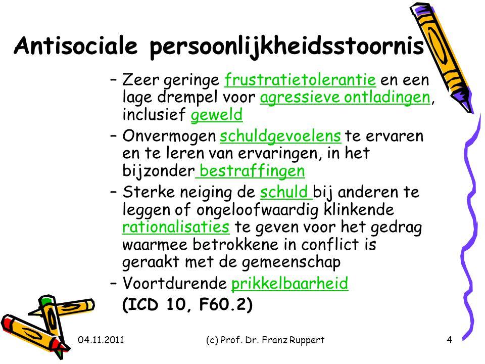 Antisociale persoonlijkheidsstoornis