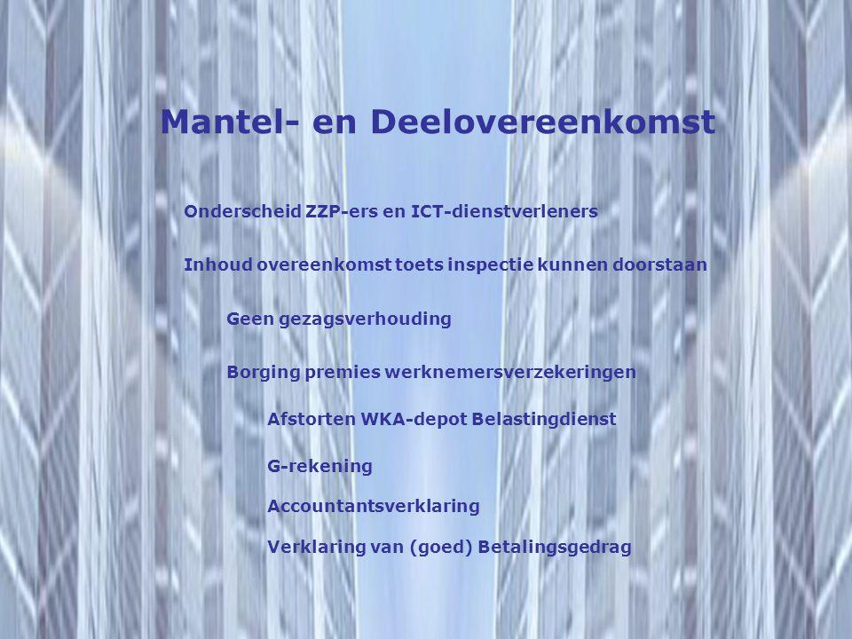 Mantel- en Deelovereenkomst
