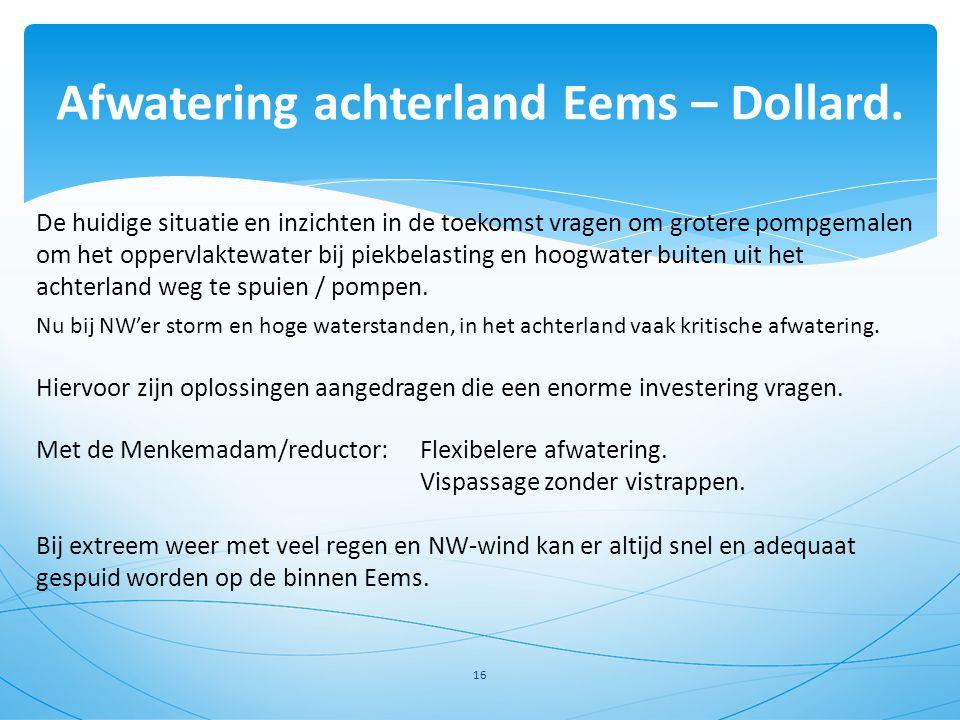 Afwatering achterland Eems – Dollard.