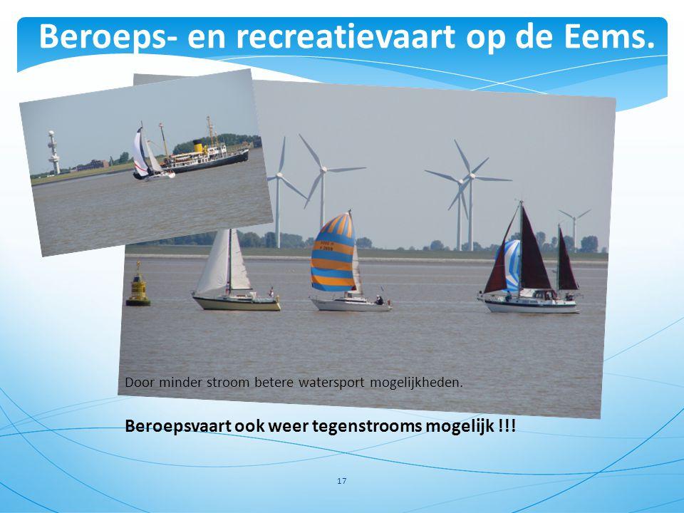 Beroeps- en recreatievaart op de Eems.