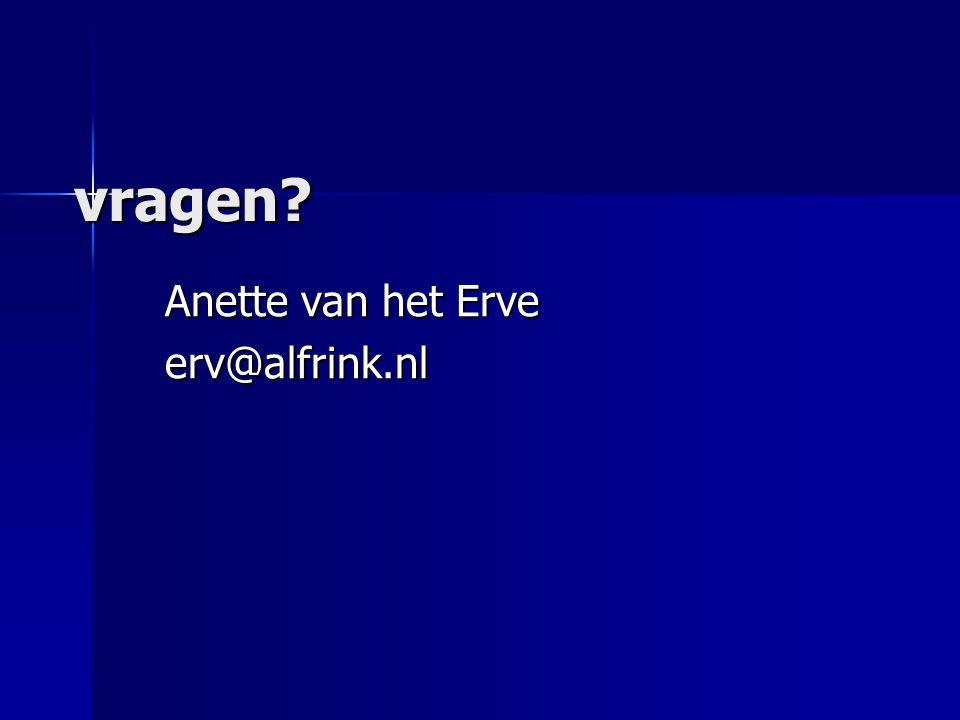 Anette van het Erve erv@alfrink.nl