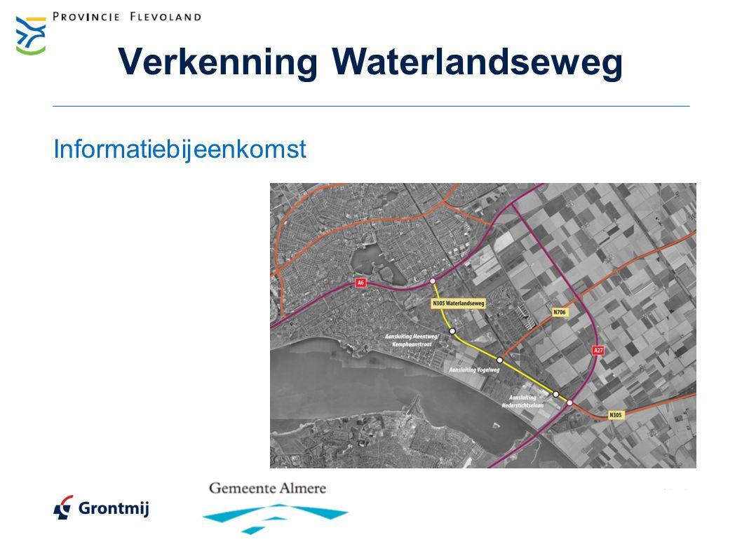 Verkenning Waterlandseweg