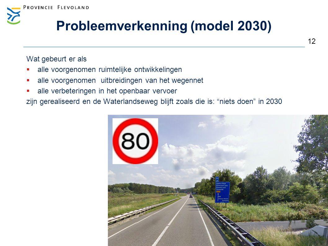 Probleemverkenning (model 2030)