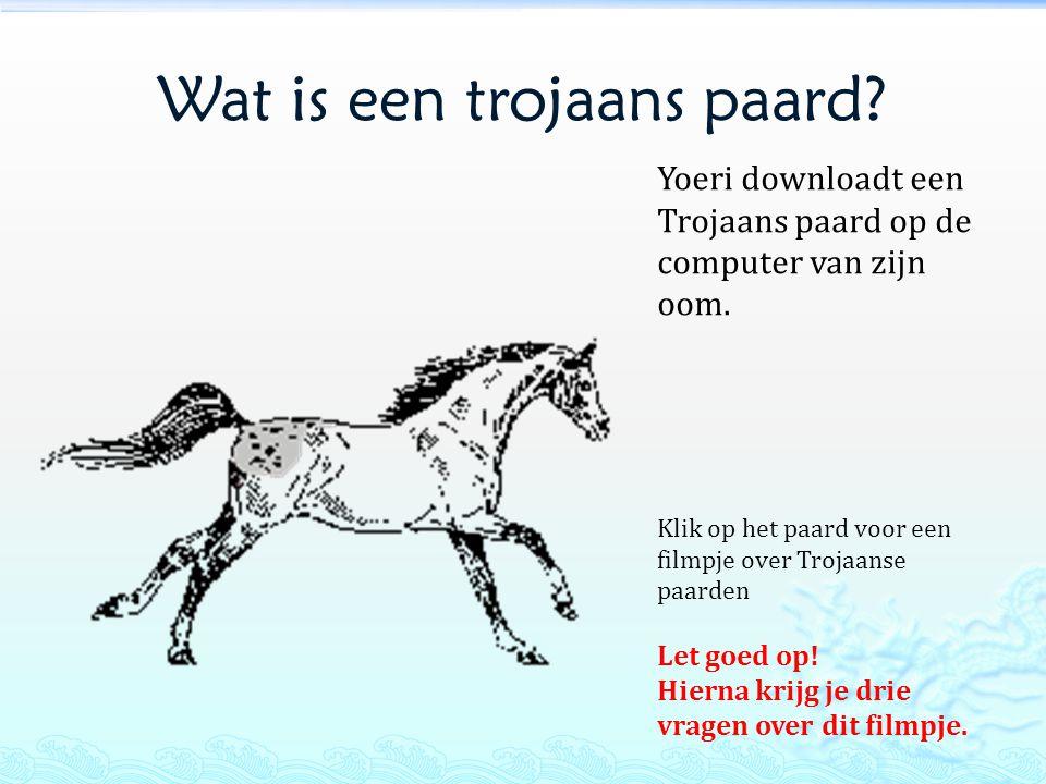 Wat is een trojaans paard