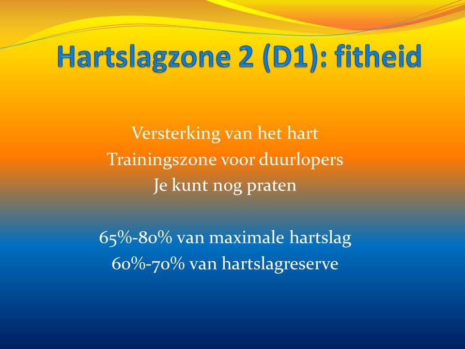 Hartslagzone 2 (D1): fitheid