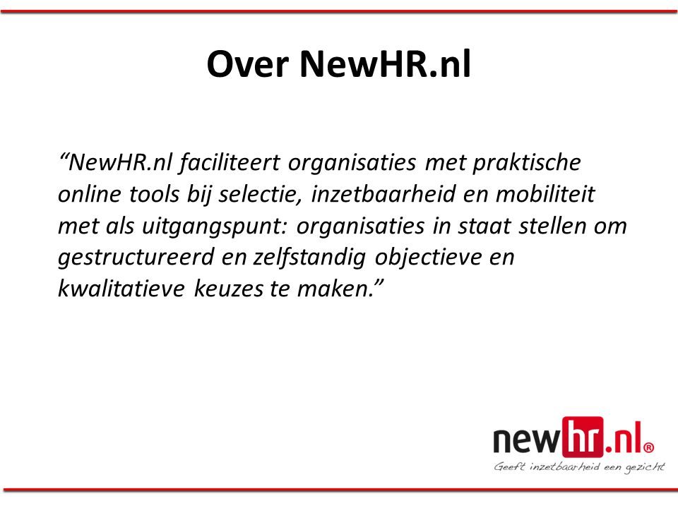 Over NewHR.nl