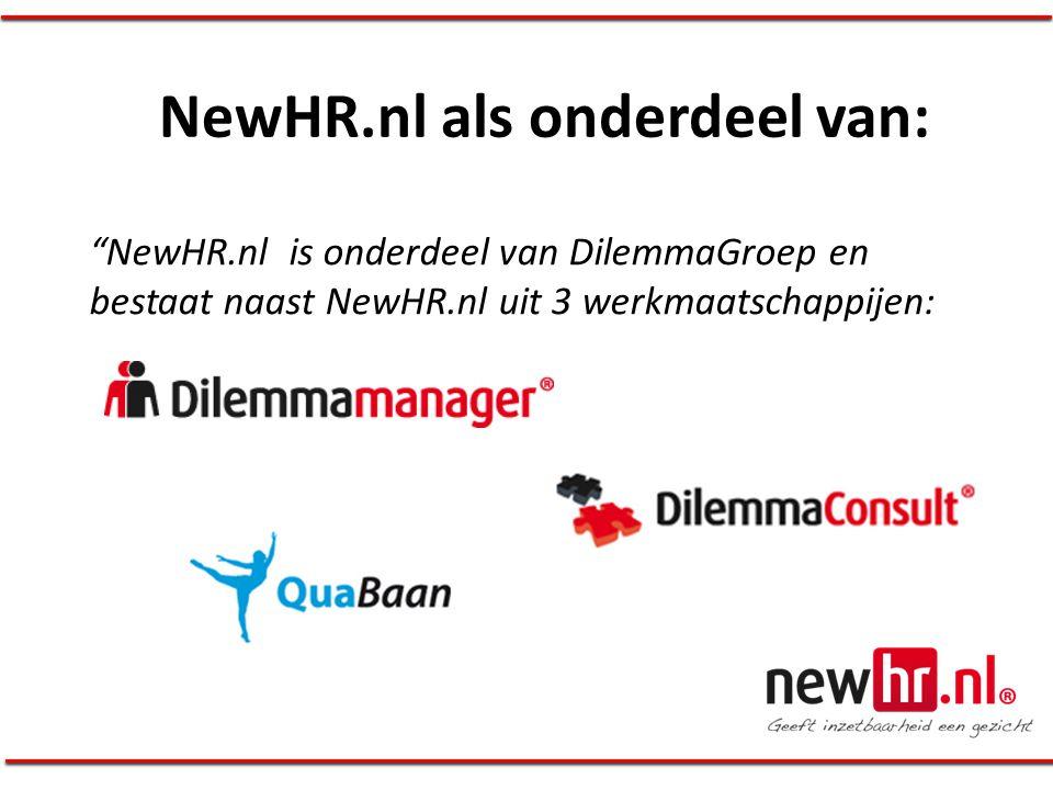 NewHR.nl als onderdeel van: