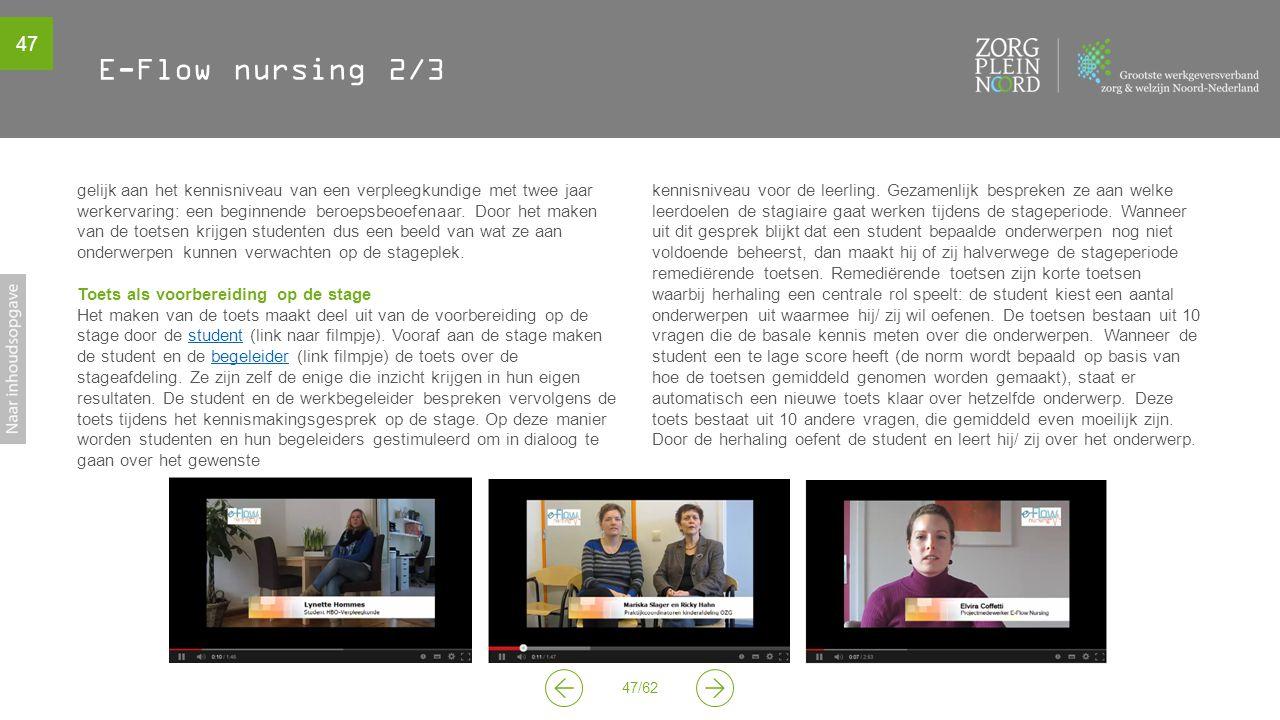 E-Flow nursing 2/3