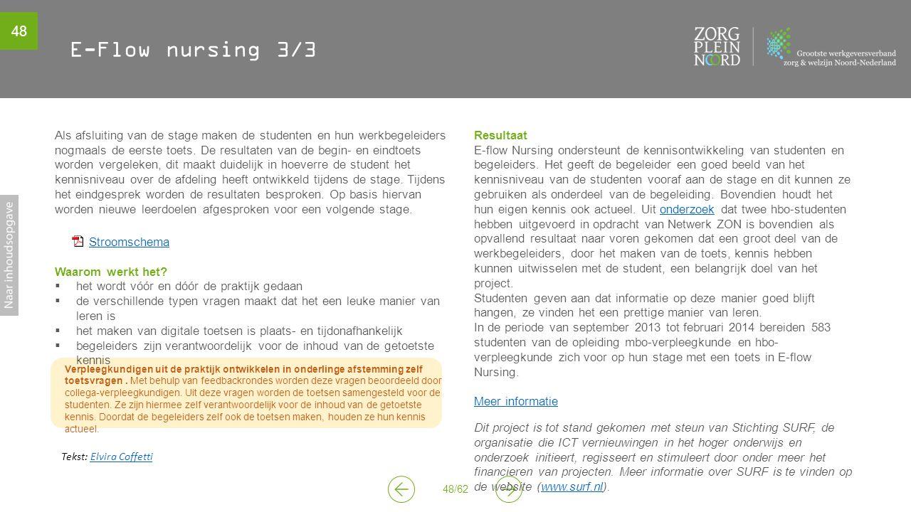 E-Flow nursing 3/3