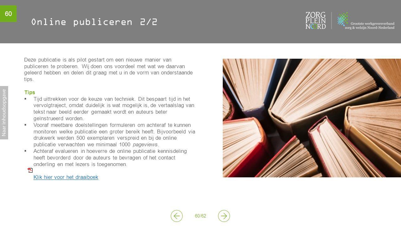Online publiceren 2/2