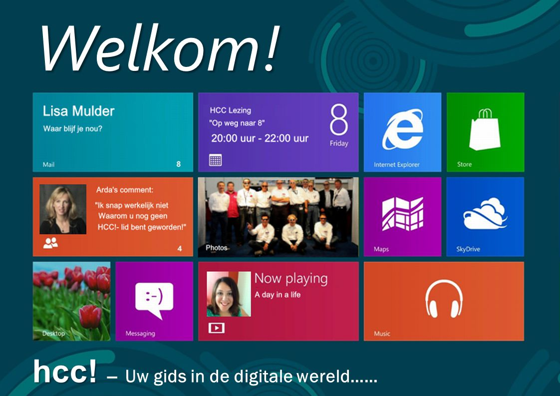 Welkom! hcc! – Uw gids in de digitale wereld……