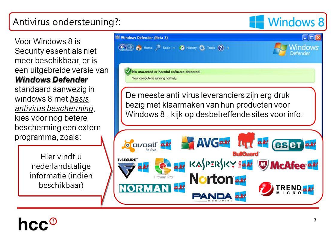 Hier vindt u nederlandstalige informatie (indien beschikbaar)