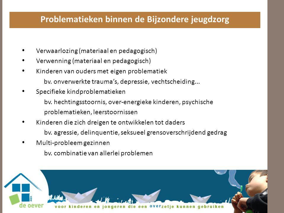 Problematieken binnen de Bijzondere jeugdzorg