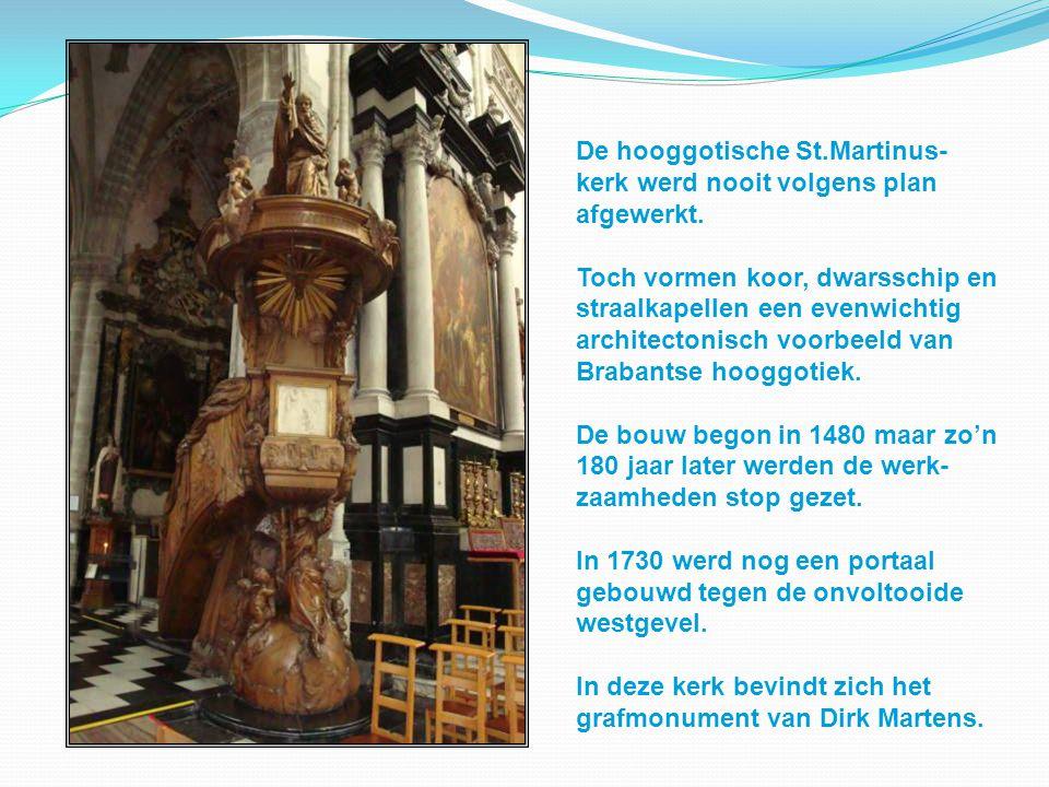 De hooggotische St.Martinus-