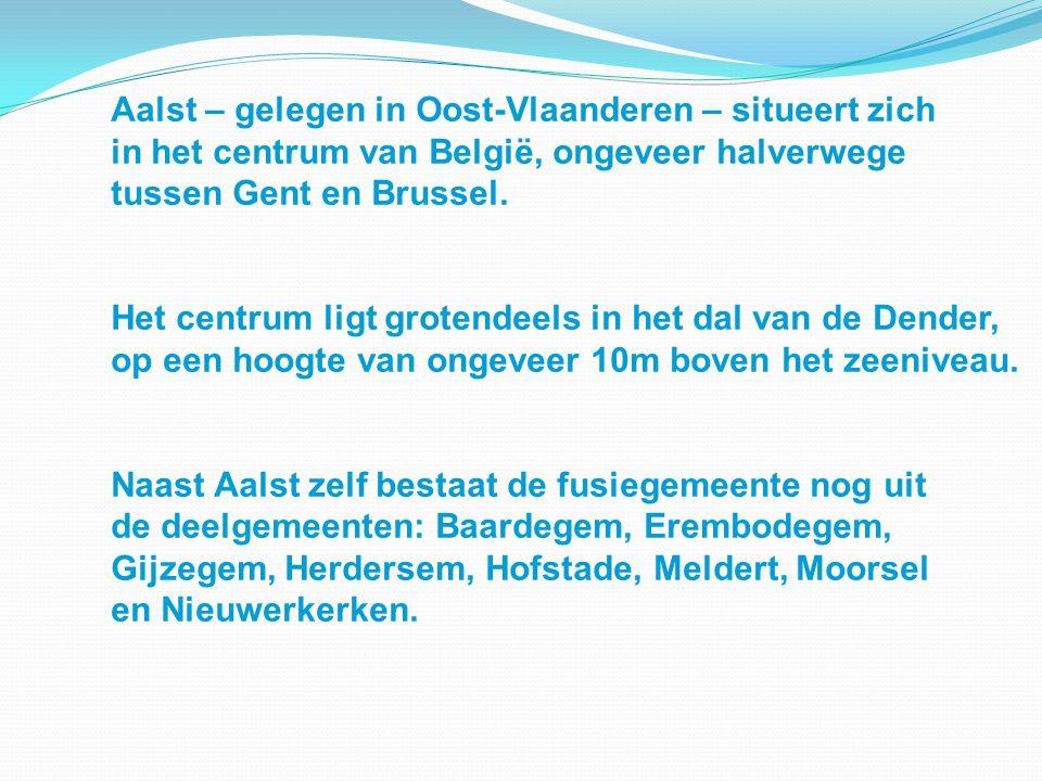 Aalst – gelegen in Oost-Vlaanderen – situeert zich