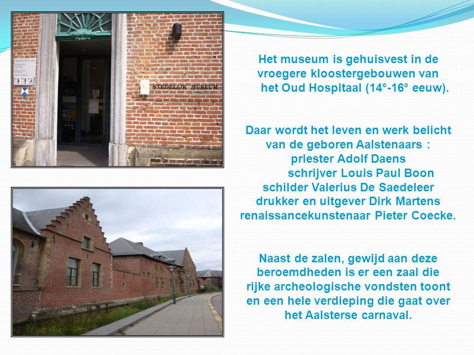 Het museum is gehuisvest in de vroegere kloostergebouwen van