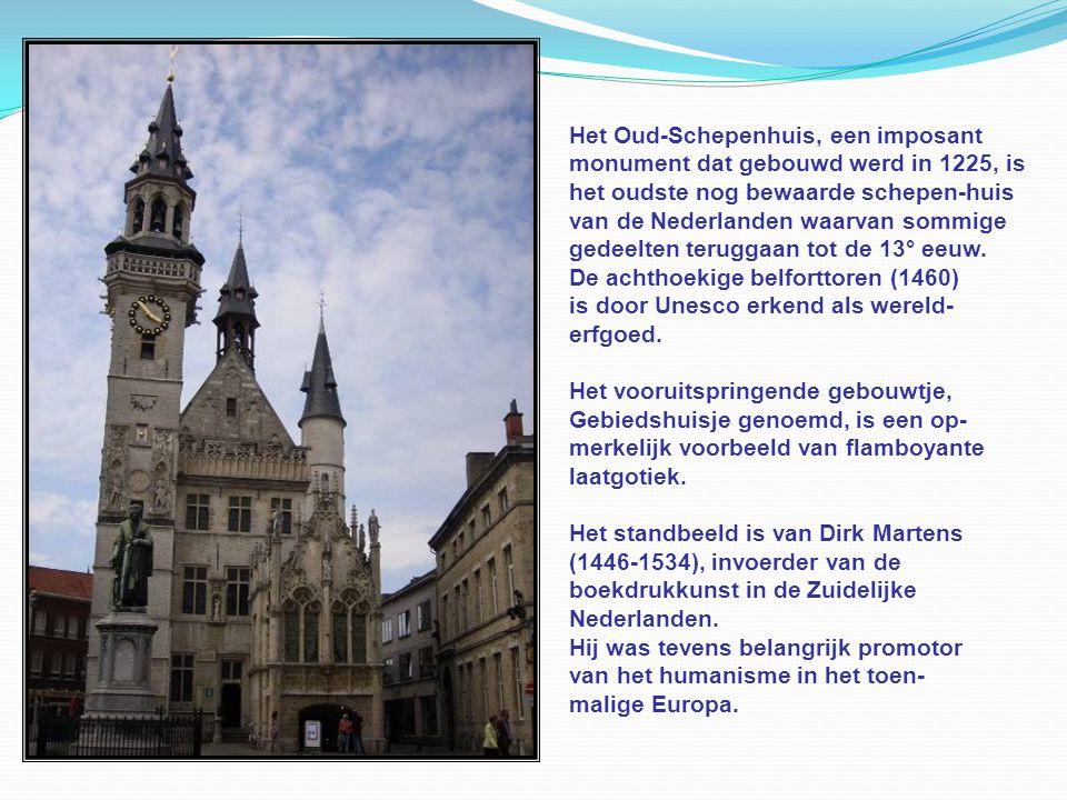 Het Oud-Schepenhuis, een imposant