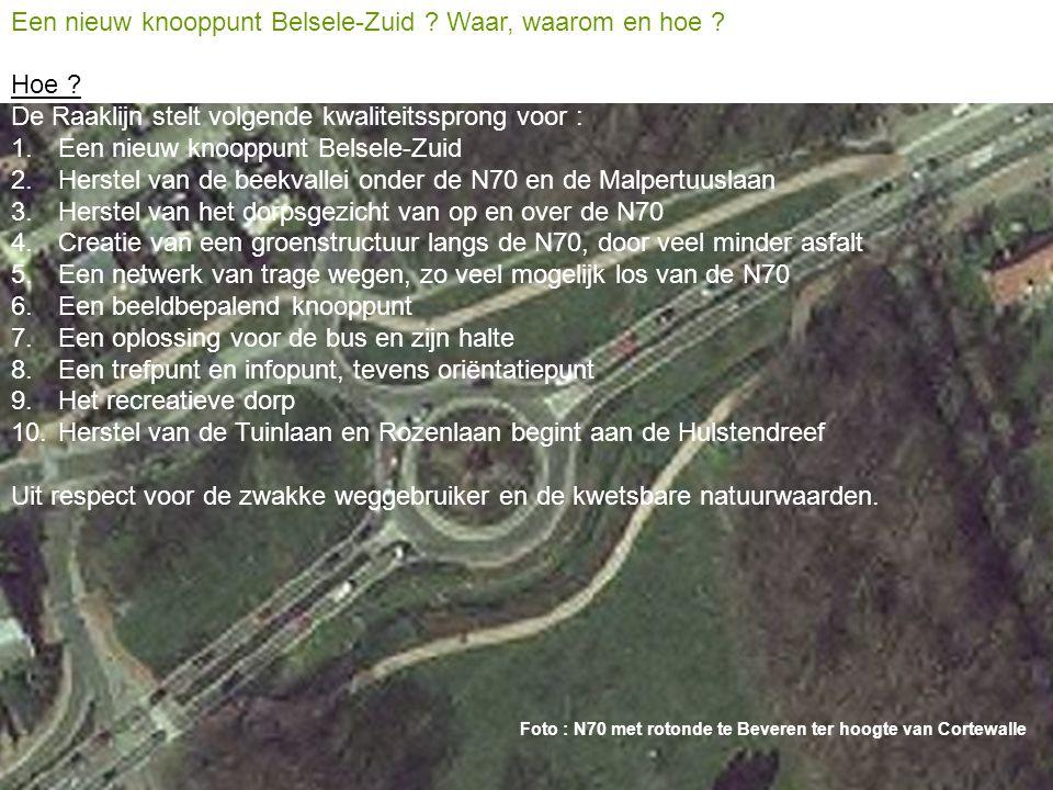 Een nieuw knooppunt Belsele-Zuid Waar, waarom en hoe