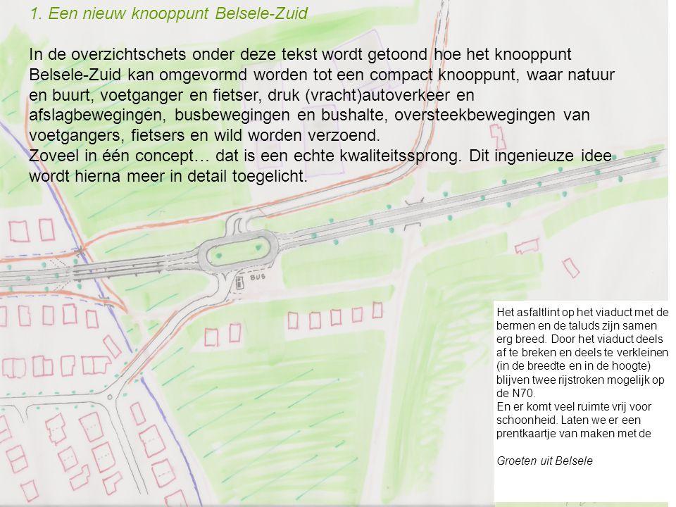 1. Een nieuw knooppunt Belsele-Zuid