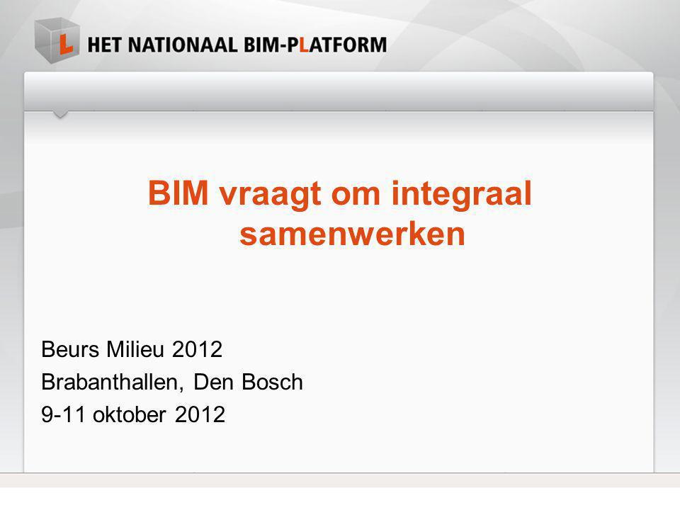 BIM vraagt om integraal samenwerken