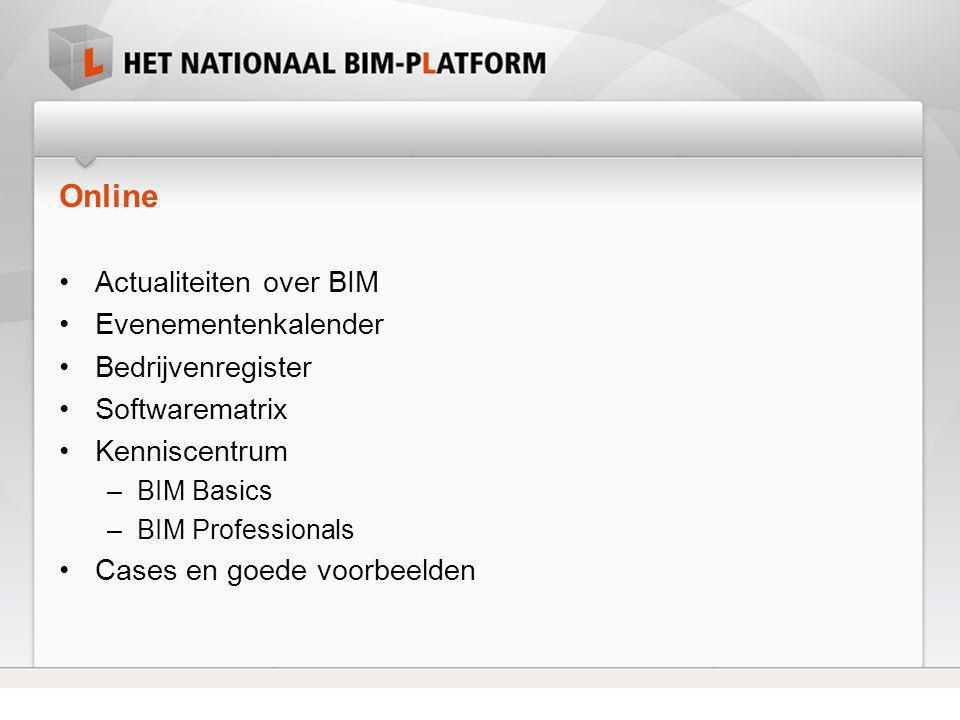 Online Actualiteiten over BIM Evenementenkalender Bedrijvenregister